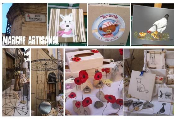 et depuis l'année dernière, rue Raspail, un espace dédié à des artisans créateurs