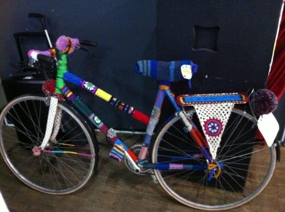 vélo réalisé pour le Téléthon